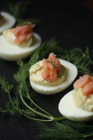 Deviled Eggs with Sm