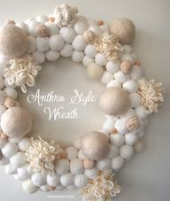 DIY Snowball Wreath