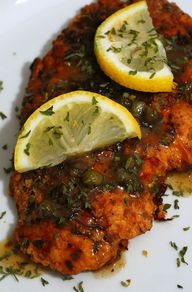 Chicken Piccata - In