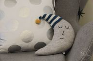Moon Shaped Pillow -
