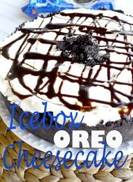 Icebox Oreo Cheeseca