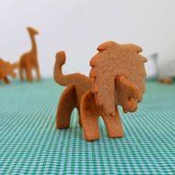 3D Safari Cookie Cut