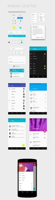 Android L Psd
