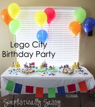 Lego City Birthday P