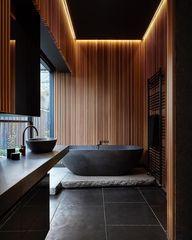 Japandi : le Japon à la rencontre de la Scandinavie - Index-Design.ca #interiordesign #carnetdinspiration #bathroom #decoration #renovation