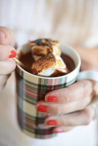 Decadent hot chocola