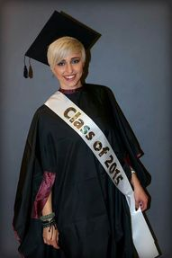 Anje-Lee Janse van Vuurens  Graduation from Pasquale Hairstylists and Academy. Loads of Fun and Laughter and the occasional tear.