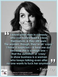 Tina Fey on women's