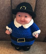 Craft Attic Resources: Lots to Love 8 Inch Pilgrim Boy