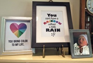 the rainbow quote la