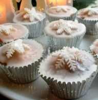 Magical Christmas Fairy Cakes for Christmas Eve