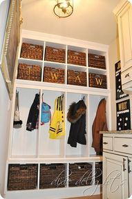Mudroom built-ins |