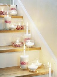 Candle holders using