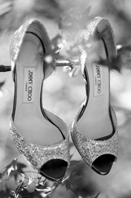 Sparkly Jimmy Choos. Photography By / zoomphotography.net, Event Coordination By / spotonevents.com, Floral Design By / flowerdivas.com