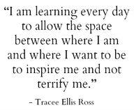 inspire // tracee el