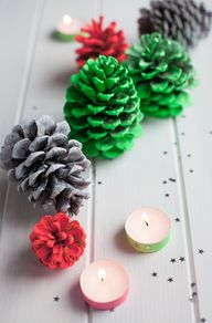 Pretty pinecones