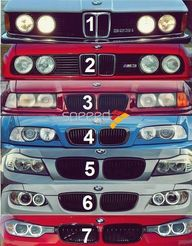 BMW headlights and g...