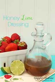 Honey Lime Dressing