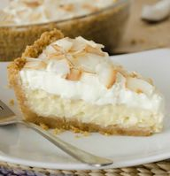 This NO BAKE Coconut Cream Pie is the simplest pie to prepare! Vanilla pudding, milk and coconut mixed together create the first steps of this classic pie.