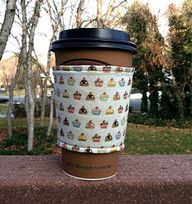 SALE Fabric coffee c