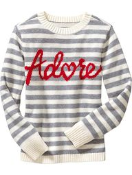 Adore sweater from O