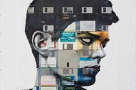 Floppy Disc Portrait