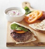 Lamb Burgers With Re
