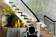 Wallpaper staircase