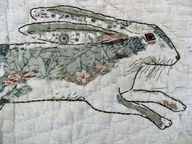 Thread and Thrift: Stitched Drawings