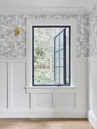 2 x 3 casement window...love this Milgard UltraTM Series which was fiberglass on the inside and exterior and allowed for the black exterior and interior color we wanted.