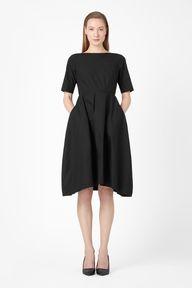 Flared cotton dress