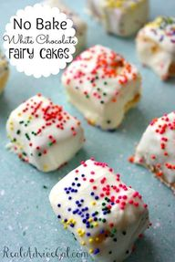 Grab your little fairy. Celebrate lifes little moments with No Bake Fairy Cakes recipe!