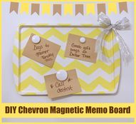 DIY Magnetic Chevron