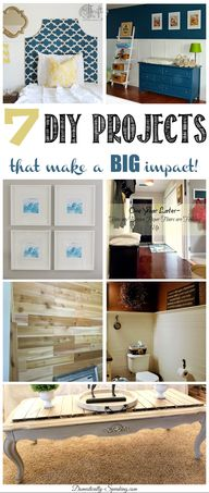 7 DIY Projects that