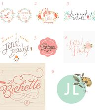 pretty logo designs
