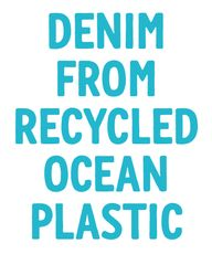 Denim from recycled