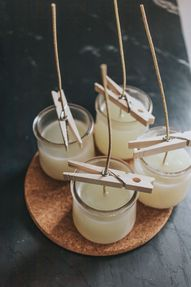 how to make DIY soy candles