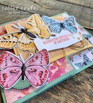Butterfly Bijou Joy Fold Card
