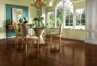 Brown wood flooring