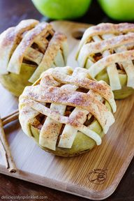 Easy Baked Apple Pie