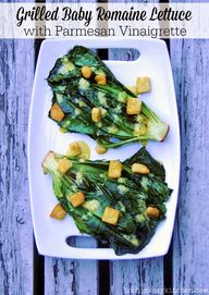 Grilled Baby Romaine