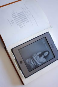 Clever! A DIY Kindle