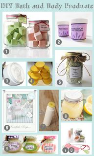 20 DIY Bath and Body