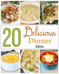 20 Delicious Dinner