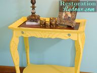 Antique Yellow Distr