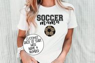 Custom Soccer Mom Shirt, Soccer Mom, Game Day Shirt, Game Day Apparel, Soccer Shirt, Soccer T Shirt, Mama Soccer Shirt, Game Day Vibes Shirt