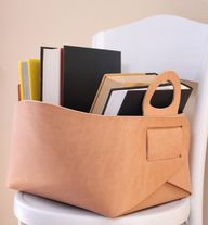 diy leather tote - G