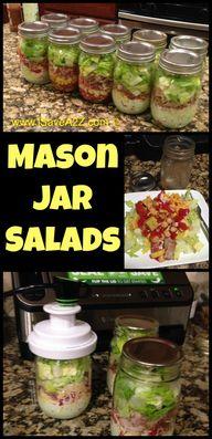 Mason Jar Salads fro