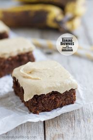 Banana Brownies with
