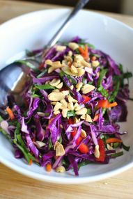Asian Cabbage Slaw w